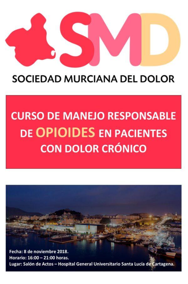 Curso de manejo responsable de opioides en pacientes con..